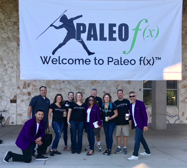 AT THE PALEO F(X) CONFERENCE